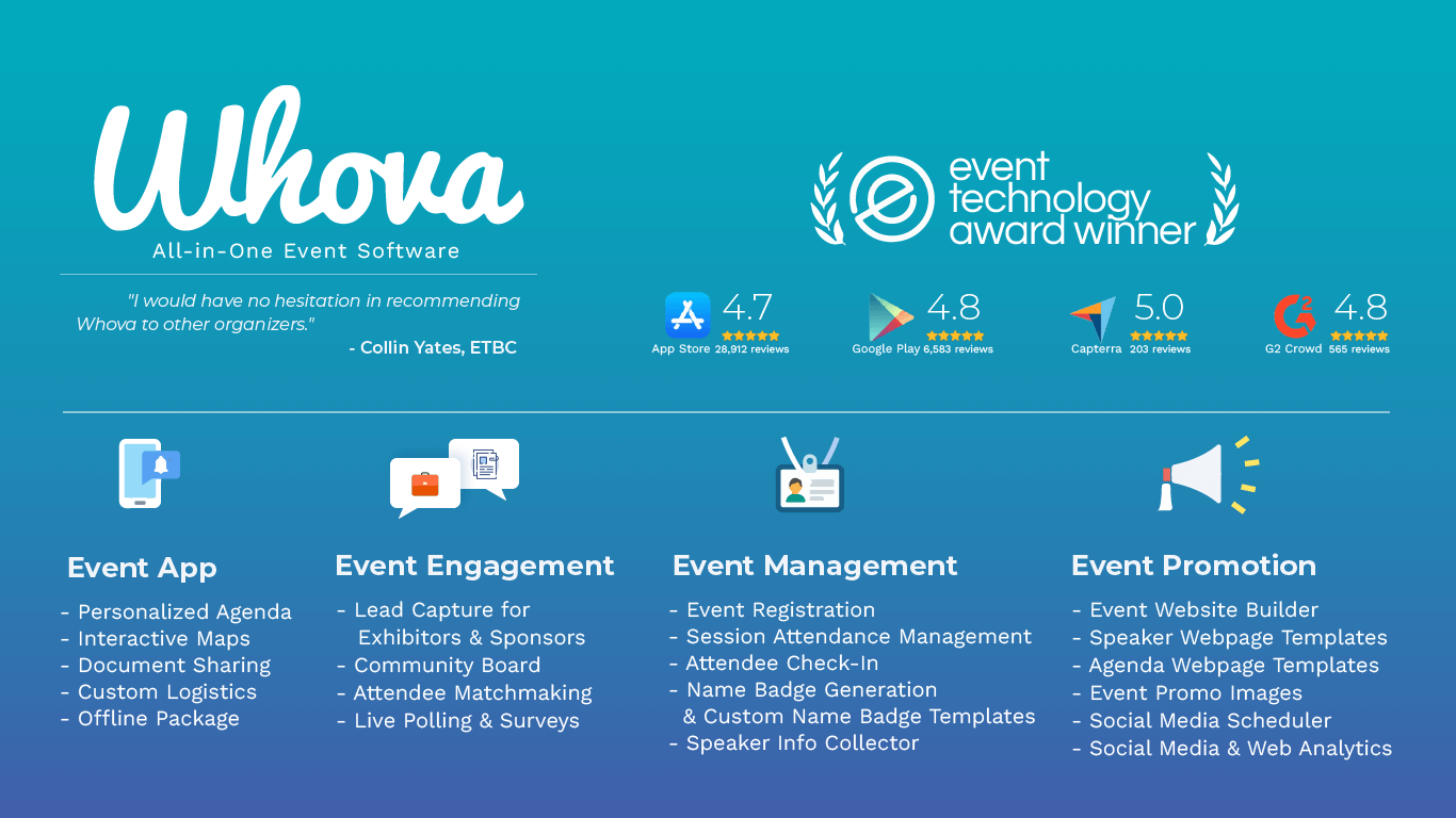 event management software Whova