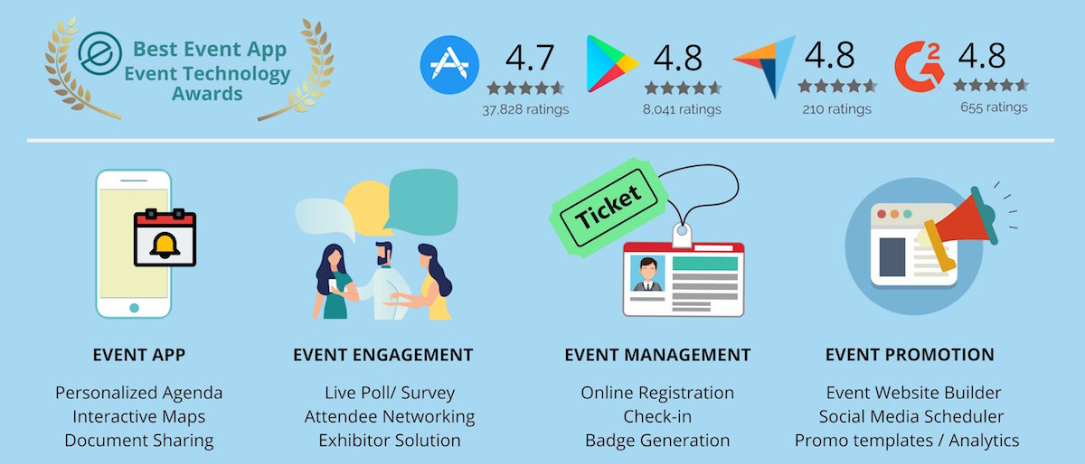 Whova event management software