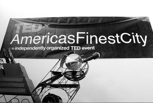 TEDx AmericasFinestCity with Whova