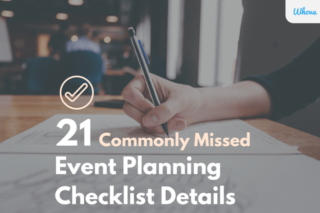 Event Planning Checklist details