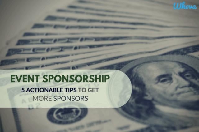 event sponsorship tips