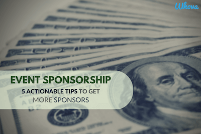 Event Sponsorship Tips Whova