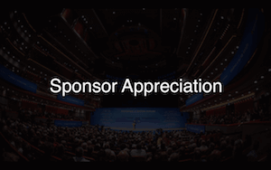Whova Sponsor Appreciation