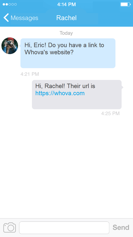 messaging - links