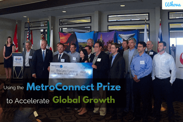 Whova has received the MetroConnect award!