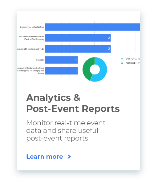 Post Event Report Analytics