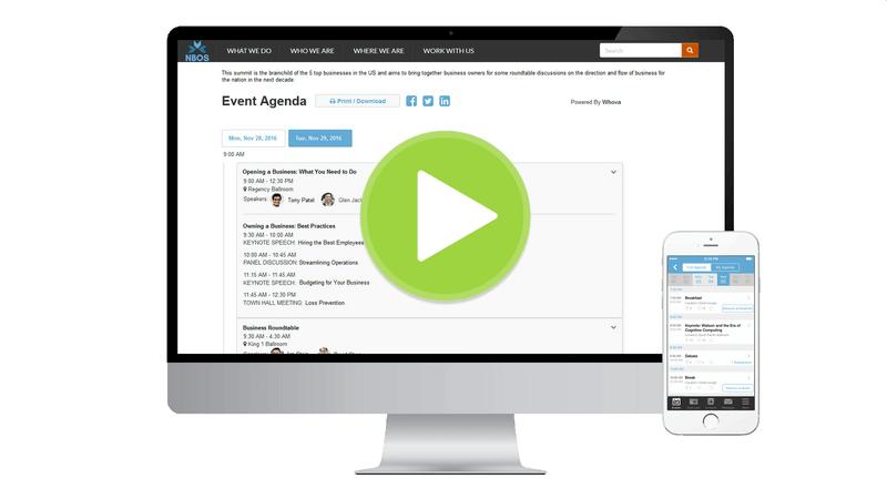 Event Agenda Manager – Event Agenda