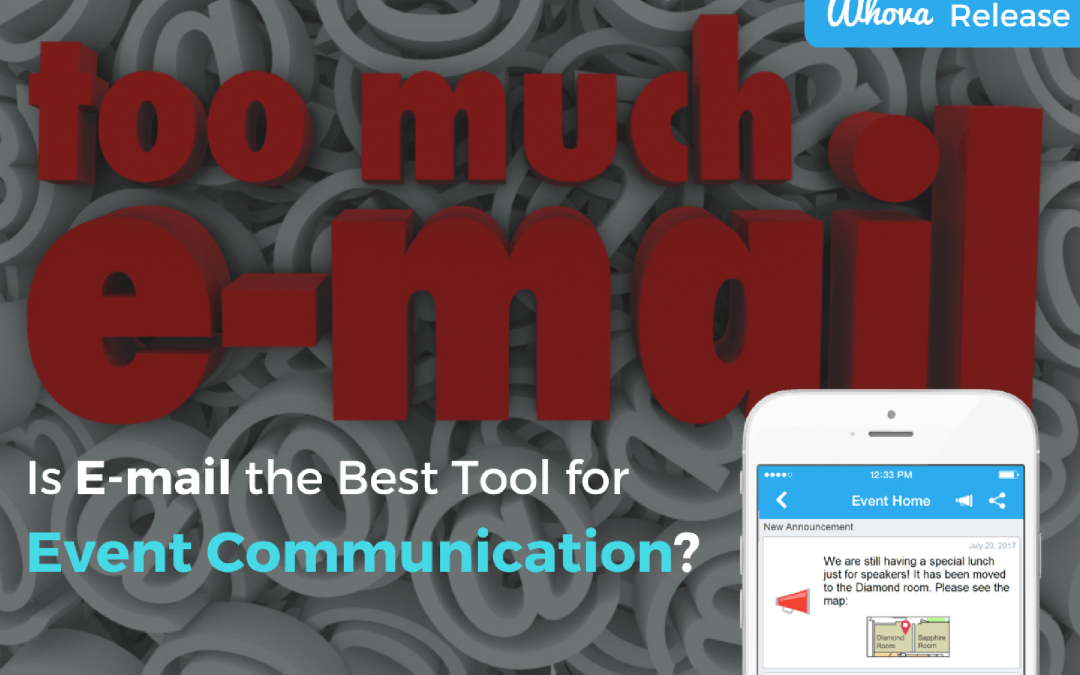 Is an E-mail the Best Tool for Event Communication?