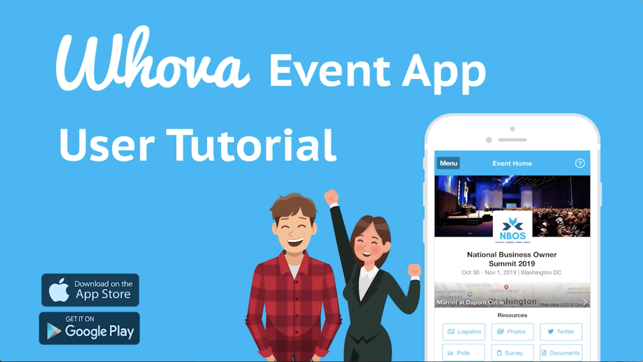 Whova Event App User Tutorial - Whova