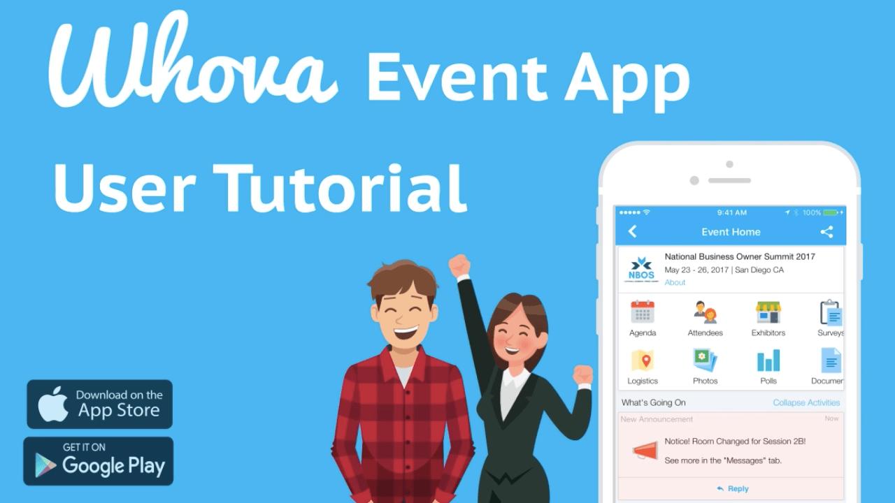 Whova Event App User Tutorial