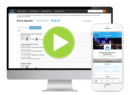 Award winning event apps and event management software whova put intelligence into event management reheart Choice Image