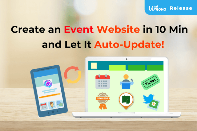 Create an Event Website in 10 Minutes and Let it Auto-Update
