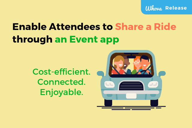 Enable Attendees to Share a Ride via an Event App – Help Them Save Money and Get Connected