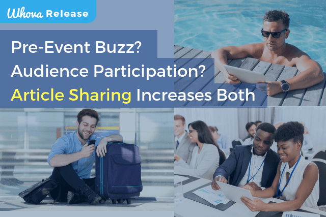 Pre-event Buzz? Audience Participation? Article Sharing Can Increase Both