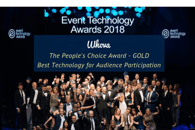 Whova Wins the People's Choice Award at the 'Oscars' of Event Technology