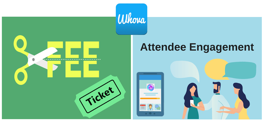Whova for event registration and attendee engagement