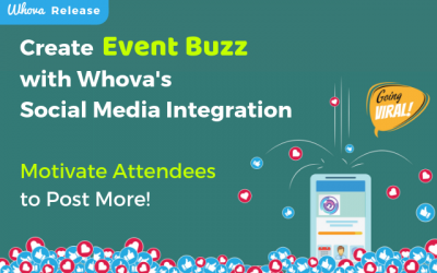 Create Event Buzz with Whova's Social Media Integration – Motivate Attendees to Post More!