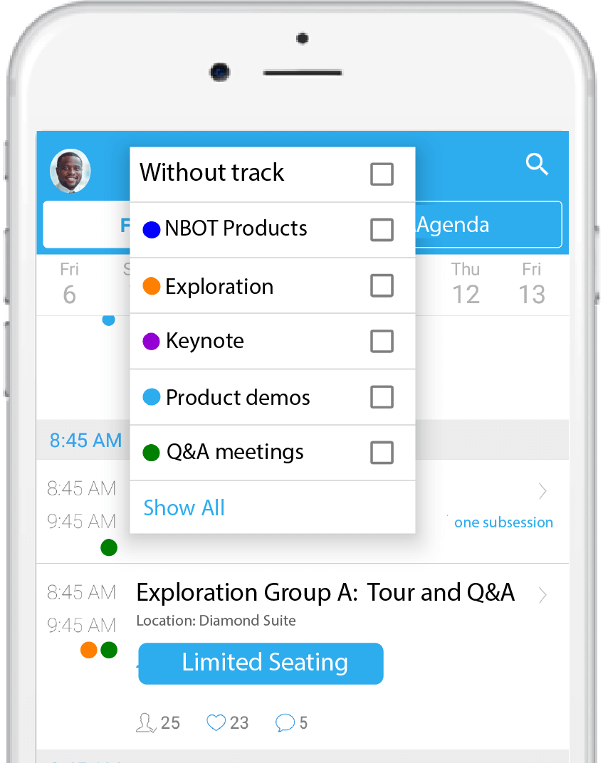 Schedule Management for Business Meetings
