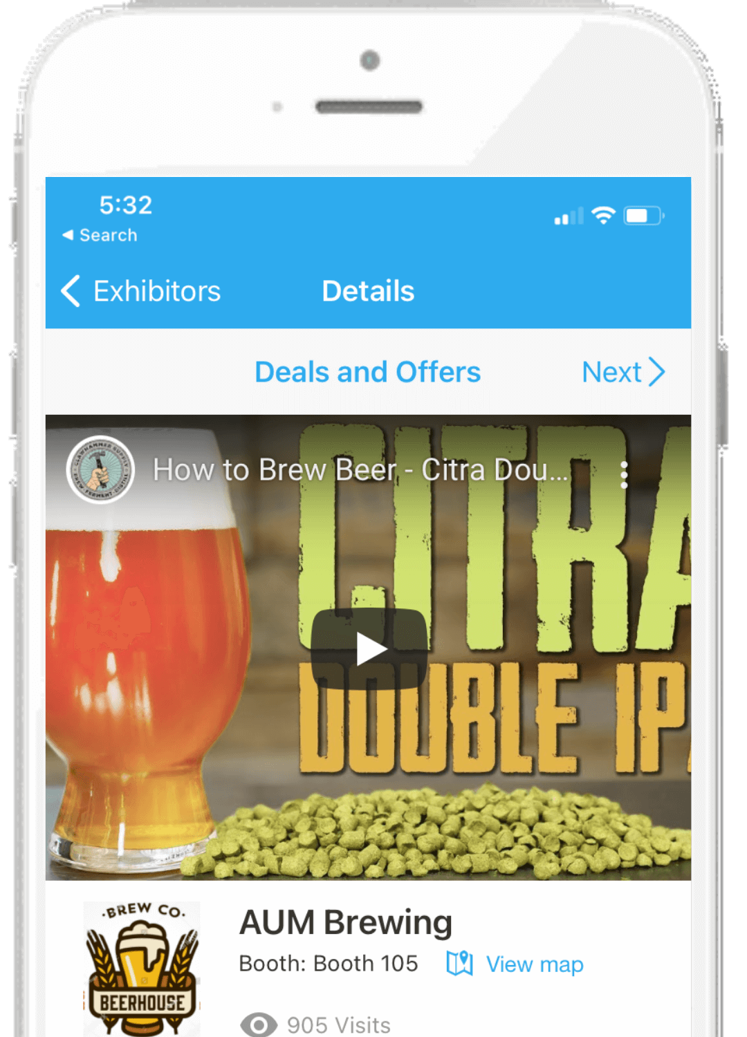 Whova Event App - Highlight Sponsor and Exhibitor