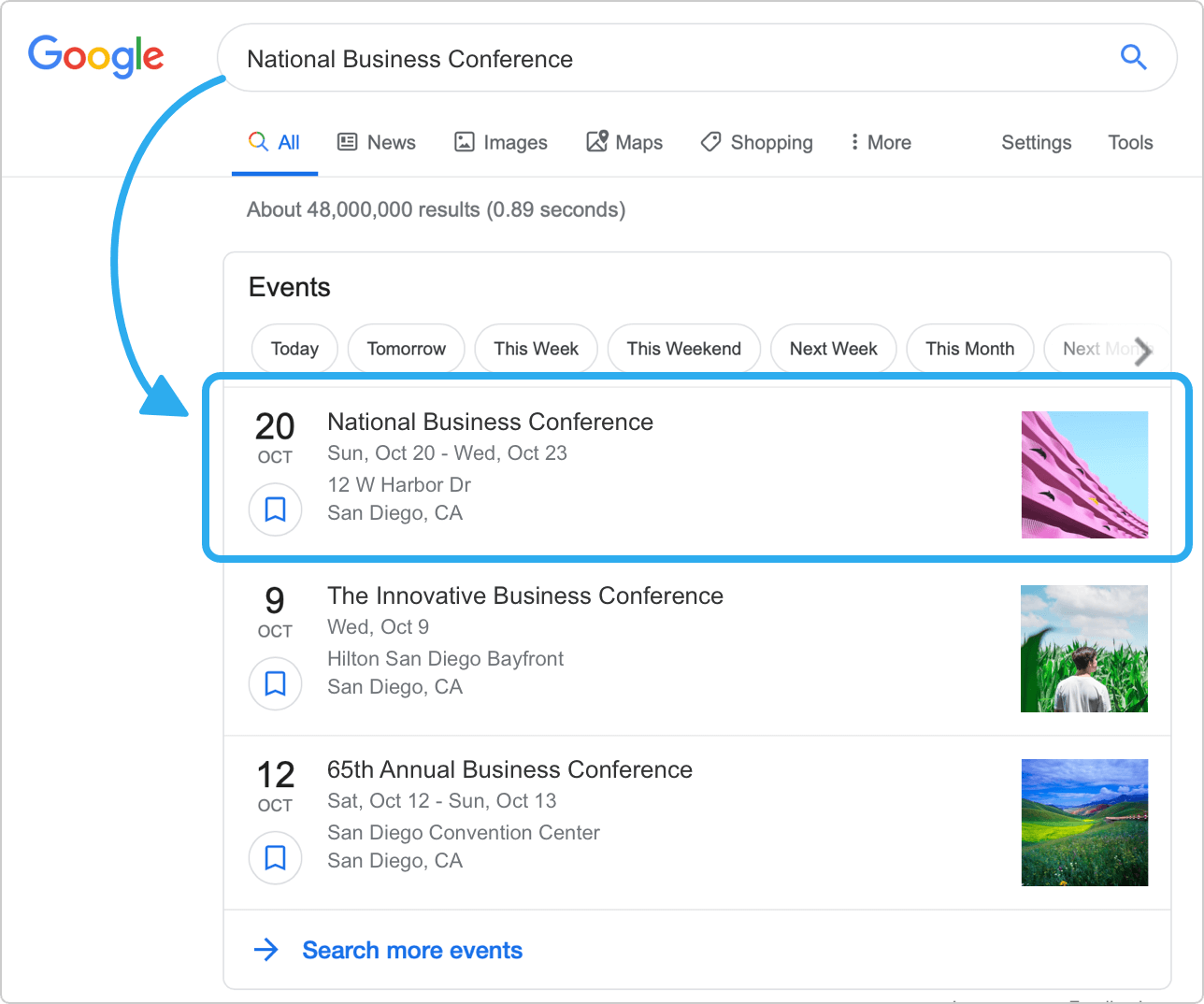 How to promote event on Google with Whova
