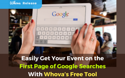 Easily Get Your Event on the First Page of Google Searches With Whova's Free Tool