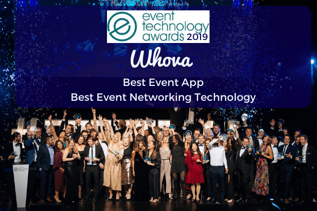 "Whova Named Best Event App of 2019 at the ""Oscars of Event Technology"""