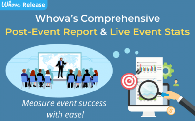 Whova's Comprehensive Post-Event Report & Live Event Stats: Measure Event Success with Ease