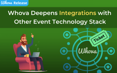 Whova Deepens Integrations with Other Event Technology Stack