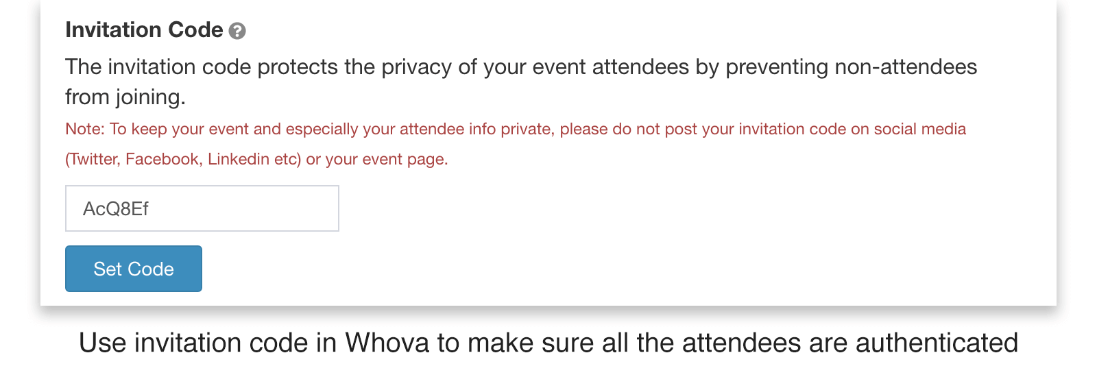 Whova improves virtual event security