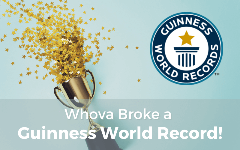 Whova Broke a Guinness World Record!