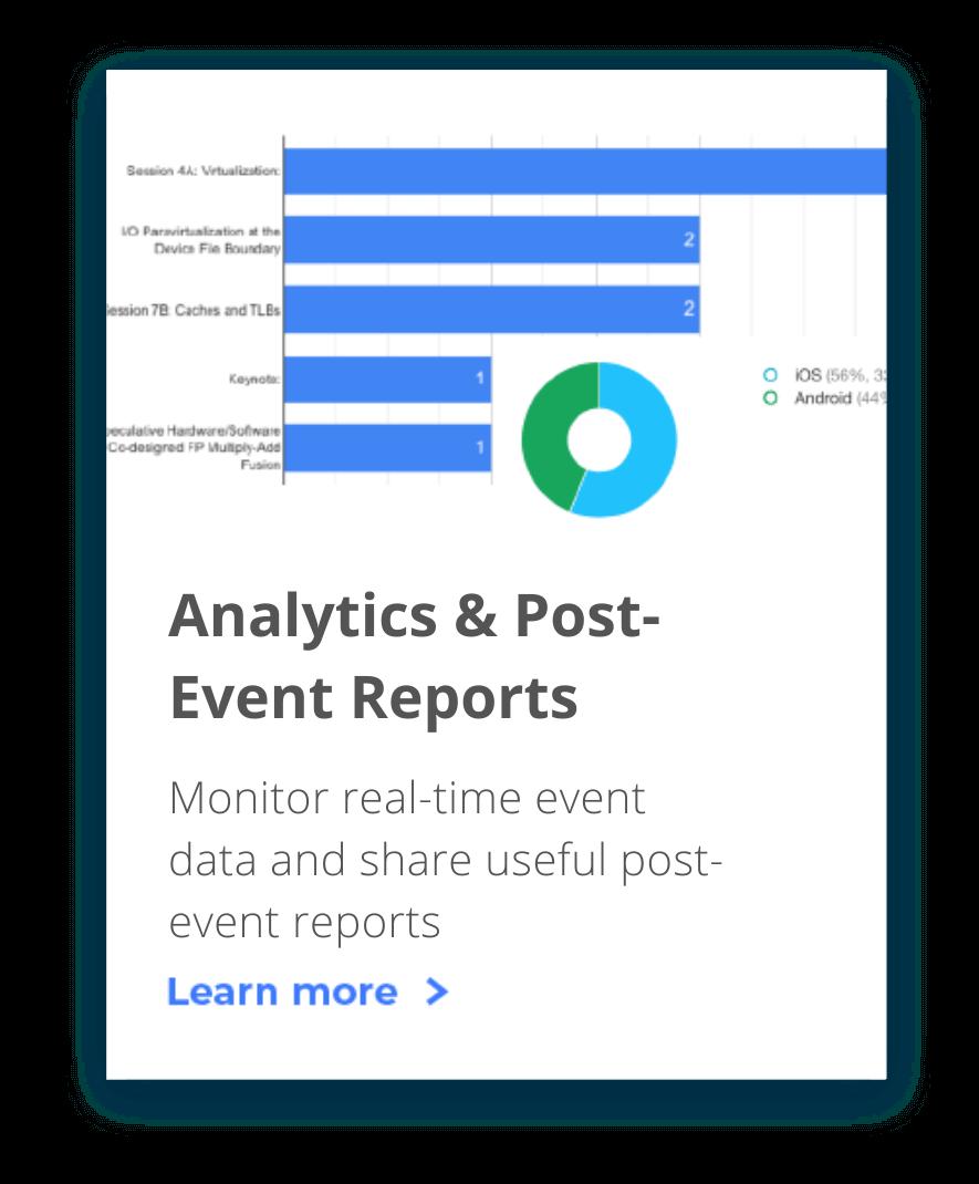Post Event Report Analytics