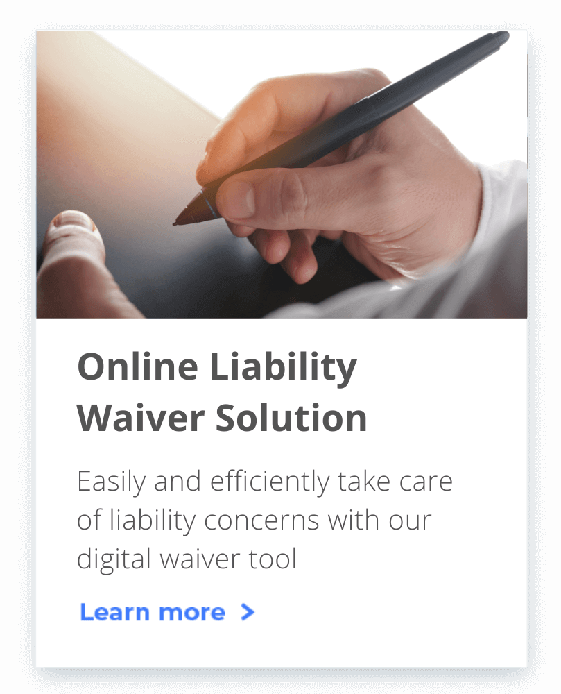 You can stop worrying about event liability by efficiently managing it with our digital waiver solution.
