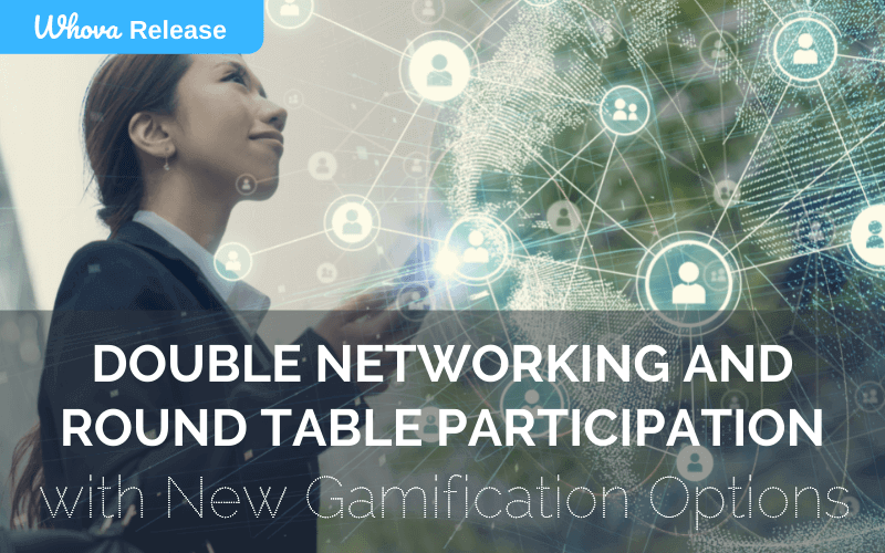 Double Networking and Round Table Participation with New Gamification Options
